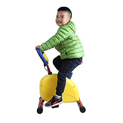 Akicon Fun and Fitness Exercise Equipment for Kids - Happy Bike Toddler Exercise Bike Learning Bike: Toys & Games