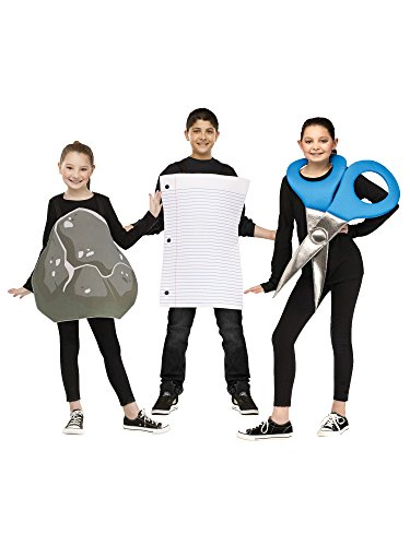 Rock Paper Scissors Costume - One Size -