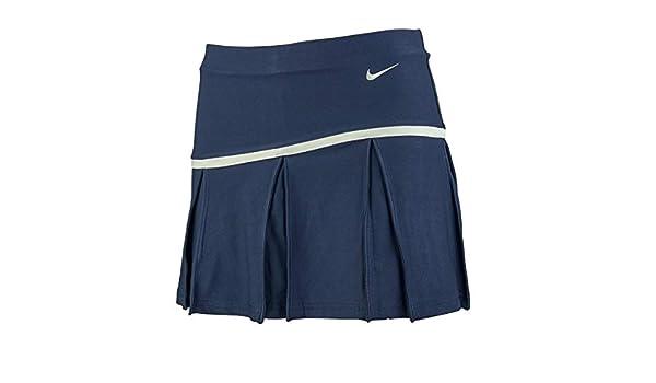 69b035fb51 Amazon.com : Nike Women's Control Pleated Skirt Collegiate Navy/White XS :  Sports & Outdoors