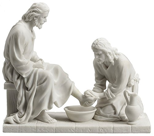 Jesus Christ Washing His Disciple
