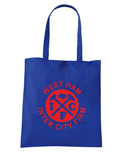 T-Shirtshock - Bolsa para la compra TUM0005 west ham inter city firm Azul Real