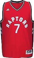 adidas AL7152 NBA International Swingman Toronto Raptors Jersey No.7 Kyle Lowry (Red - Medium)