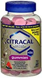 Citracal Calcium +D3 Gummies Assorted Flavors – 70 Ct., Pack of 2 For Sale