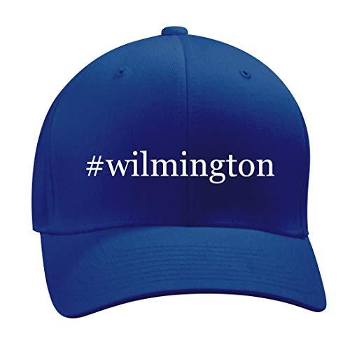 #Wilmington - A Nice Hashtag Men's Adult Baseball Hat Cap, Blue, Small/Medium
