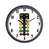 CafePress – Drag Racing Christmas Tree – Unique Decorative 10″ Wall Clock Review