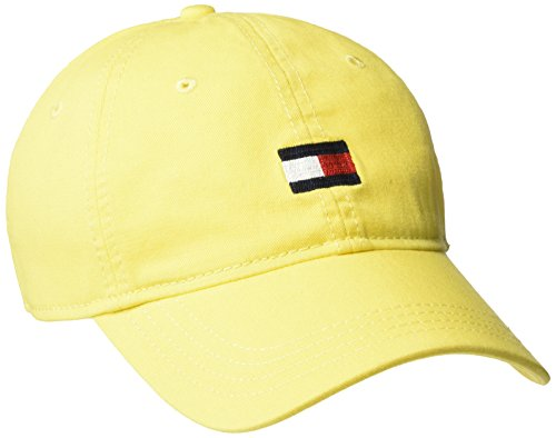 Tommy Hilfiger Men's Ardin Dad Hat, Buttercup One Size ()