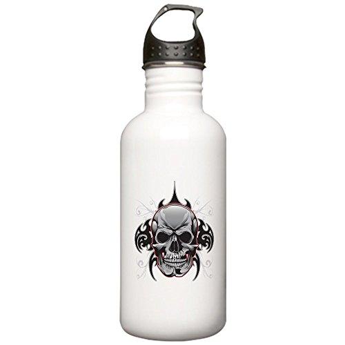 Stainless Water Bottle 1.0L Tribal Skull