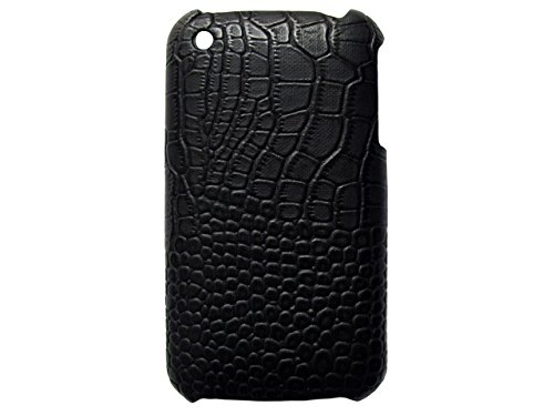 Telileo Back Case - Apple iPhone 3G iPhone 3GS - Krokodil - Schwarz