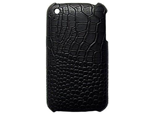 Telileo handywelt-niefern coque de protection pour apple iPhone 3 g/3GS-motif crocodile-noir