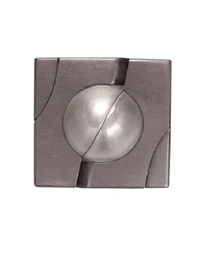 MARBLE Hanayama Cast Metal Brain Teaser Puzzle (Level 4)
