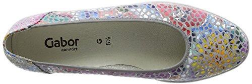 66 Shoes Stone Grigio 24 Gabor Ballerini 4 Donna Z5wZB7x