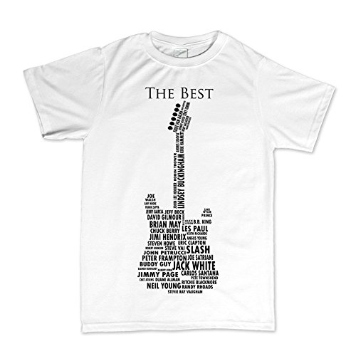 Guitar Legends 1959 American Standard Tshirt WHT XL