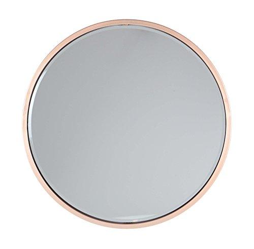 Deco 79 56972 Round Iron Wall Mirror, - Round Gold Mirror