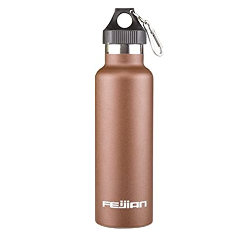 25 OZ Vacuum Insulated Stainless Steel Sweat Proof Zero Condensation Leak Free Thermos Hot Cold Water Bottle /Wide Mouth, Vacuum Seal, Hydration, Travel Mug, Reusable, Drink Best Sales