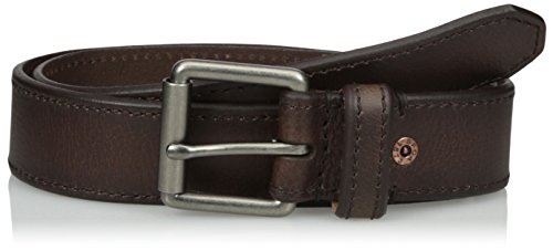 Levi's Men's Casual Belt with Roller Buckle, Brown, 38 (Leather Roller)