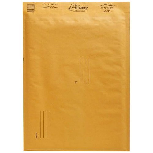 Alliance Rubber Self Seal Recycled Cushioned Mailers (ALL10807)