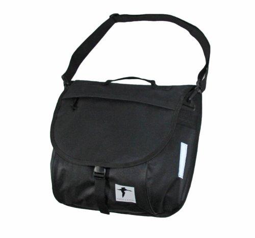 Red Loon Packtasche Schultertasche schwarz