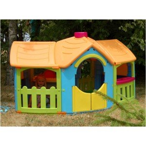 Maison de jardin pour enfant Villa Grandiosa: Amazon.fr: Jardin