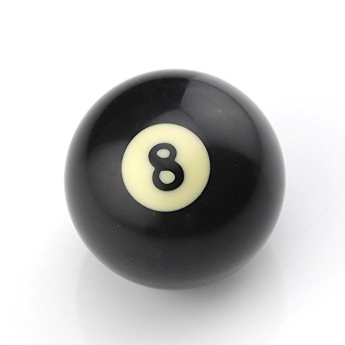 Owfeel American Black Number 8 Billiard Cue Ball 2 Inch Black