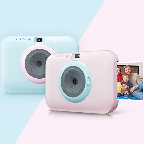 SFXYJ Instant Photo Printer,Mini Portable Pocket Color Wireless+Camera Function,Pink by SFXYJ (Image #1)
