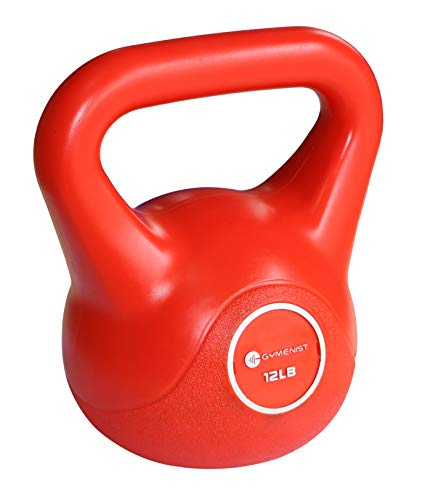 GYMENIST Exercise Kettlebell Fitness Workout Body Equipment Choose Your Weight Size