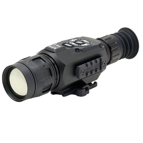 ATN ThOR-HD 384 4.5-18x, 384x288, 50 mm, Thermal Rifle Scope w/ High Res Video, WiFi, GPS, Image Stabilization, Range Finder, Ballistic Calculator and IOS and Android Apps by ATN