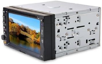 HFK-2162 6.2inches EN COCHE TFT LCD HD de coches reproductor de DVD con pantalla táctil TV FM Bluetooth (Negro): Amazon.es: Electrónica