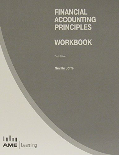 Financial Accounting Principles Workbook