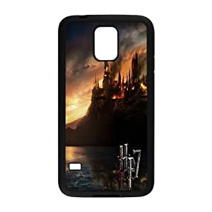 Samsung Galaxy S5 Phone Cases Black Harry Potter DOC288314