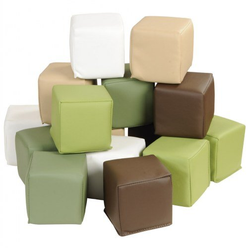 Nature-Toned Toddler Blocks (Set of 15)