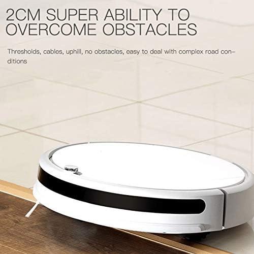L-YG Vide Intelligent Balayage Robot, New 1600Pa Aspirateur Robot Fort d\'aspiration for la Maison Balayage Automatique poussière Stériliser Intelligent prévu Mobile App à Distance