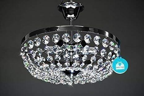 Plafoniere In Cristallo Miglior Prezzo : Lampadario plafoniera o cm luci fabbricato di cristallo