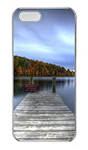 Case For HTC One M7 Cover Nature Calmdock PC Custom Case For HTC One M7 Cover Cover Transparent
