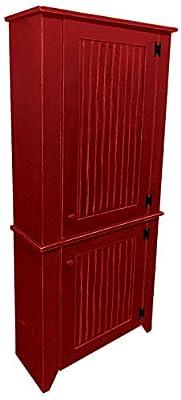 2 Piece Kitchen Pantry Cabinet