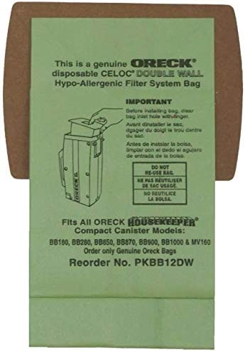 Genuine Oreck Canister PKBB12DW Housekeeper product image