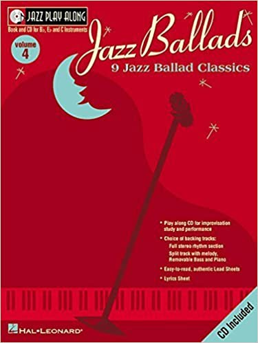Jazz Ballads: Jazz Play-Along Volume 4 (Jazz Play-Along Series) by Hal Leonard Corp. (2002)