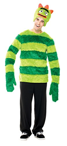 Papermagic Mens Funny Yo Gabba Gabba Brobee Theme Party Fancy Costume, Large (46-48)]()