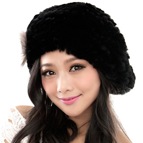 Rex Rabbit Fur Hat - 5