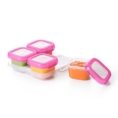 pink baby food jars - 4