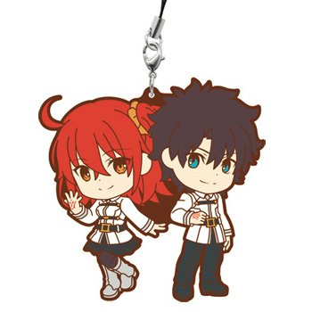 Ichiban Kuji Fate Grand Order Kyun Chara Order Final Singularity Rubber Strap Main character M Award queue by Ichiban Kuji