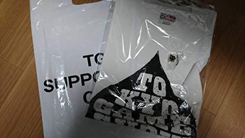 東京ゲームショウ2018 Tシャツ Mサイズ 白 ピンバッジ付 TGS2018の商品画像