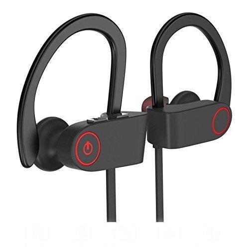Oranka Bluetooth Headphones,Best Wireless Sports Earphones with Mic HD Stereo Sweatproof in Ear Earbuds for Running Workout Gym CVC 6.0 Noise Cancelling IPX7 Waterproof 8 Hours Battery Headsets.