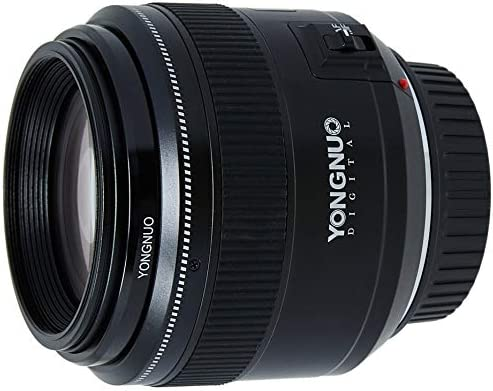 Objetivo Yongnuo YN-85mm F/1.8 para cámaras DSLR Canon: Amazon.es ...
