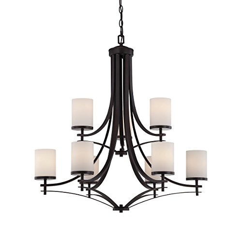 Savoy House 1-331-9-13 Colton 9-Light Chandelier in English Bronze
