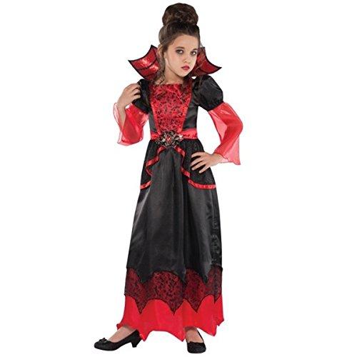 amscan Girls Vampire Queen Costume - X-Large (14-16), Black 846880 ()