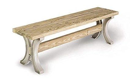 Enjoyable Amazon Com Sunsun99 Park Bench Table Garden Patio Inzonedesignstudio Interior Chair Design Inzonedesignstudiocom