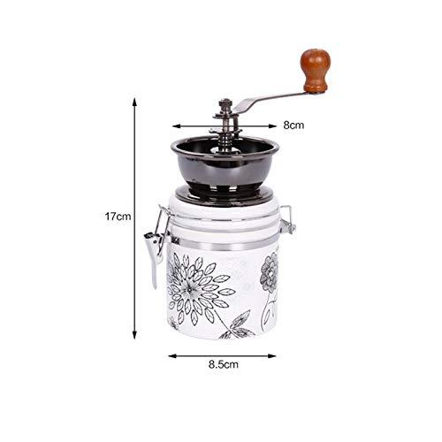 YOUTHLIKEWATER Molinillo de café Manual Molino de cerámica Molino ...