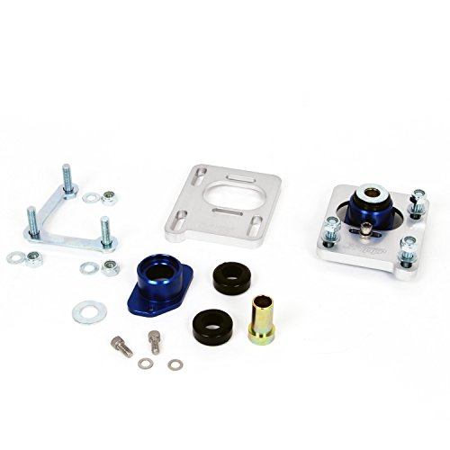 BBK 2527 Caster Camber Alignment Kit for Ford Mustang – CNC Machined Billet Aluminum With Clean Anodized Finish