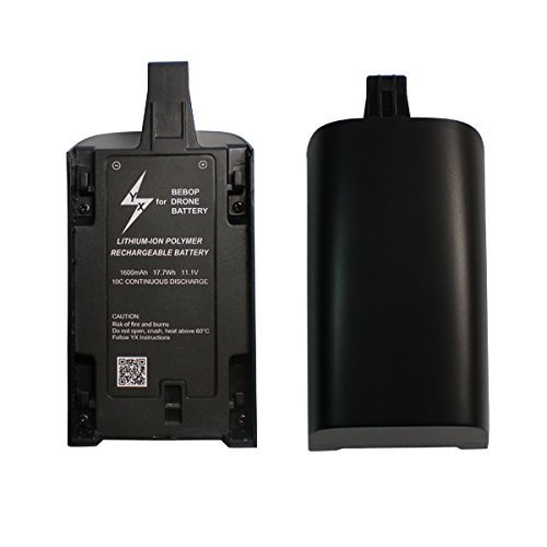Teenitor for Parrot Bebop Drone 3.0 Battery 1600mAh High Capacity by Teenitor