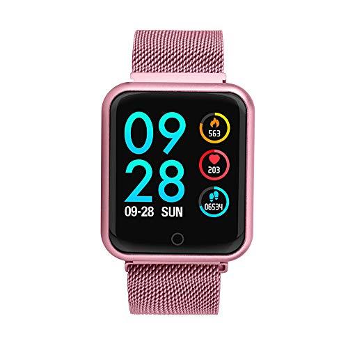 TechCode Relojes Inteligentes Mujeres, Activity Tracker Reloj con Monitor de Ritmo cardíaco Pulsera Inteligente Pulsera IP68 Smartwatch Sleep Monitor ...